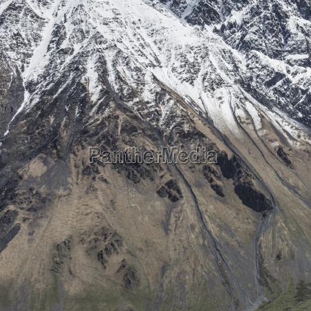 kaukasus bjergene georgien
