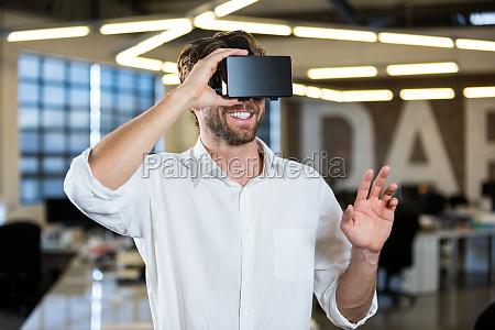 kontor fnise smiler karriere moderne mandlig