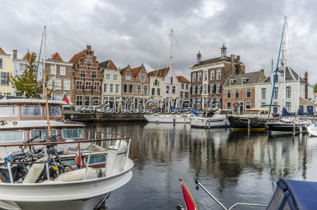 netherlands goes view to harbour and