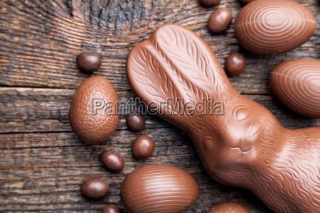 chokolade paske bunny og aeg pa