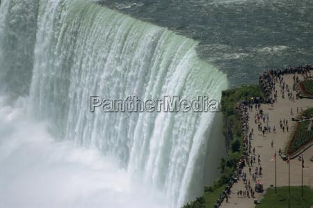 tur rejse turisme turister horisontal vandfald