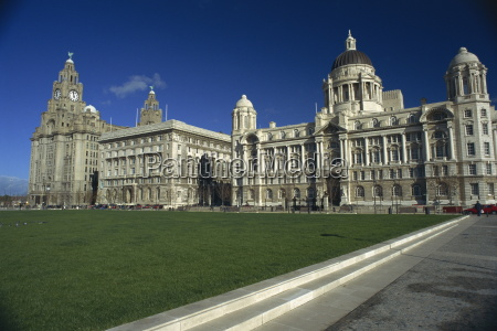 liver building and mersey docks and