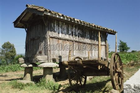 horreo a traditional grain store santillana