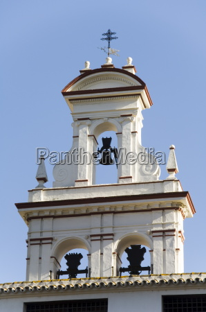 santa cruz district seville andalusia spain