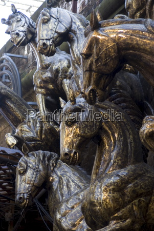 bronze statues referring back to the