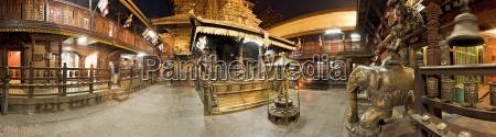 tur rejse religios tempel troende farve