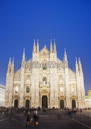 duomo milan cathedral milan lombardy italy