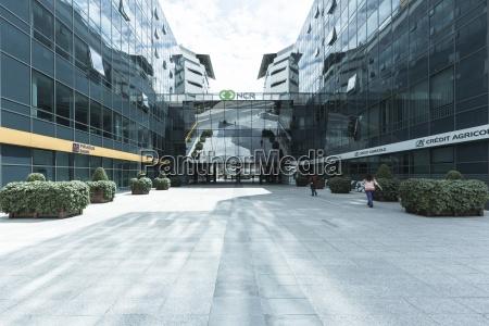 moderne kontorbygninger novi beograd beograd serbien