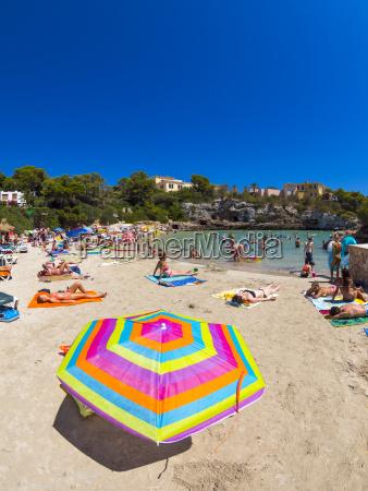 spanien baleares mallorca stranden i cala