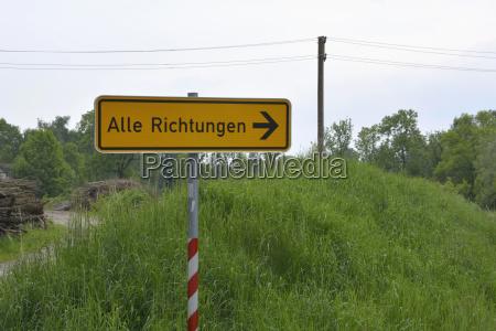 tyskland tegn post pa landdistrikterne scene