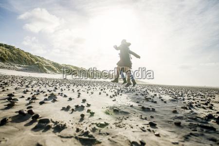 sky strand seaside stranden kysten hop