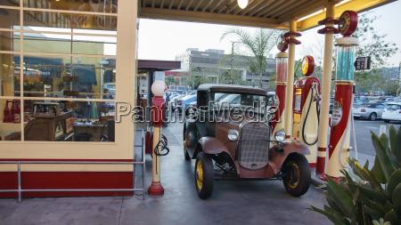 usa california los angeles vintage bil