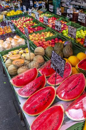 Ostrig wien udvalg af en frugt