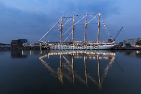 tyskland, bremerhaven, sejlskib, på, sail, 2015 - 21126309