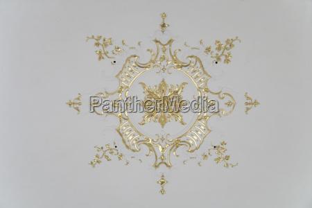 tyskland schaeftlarn udsigt til stucco ornament