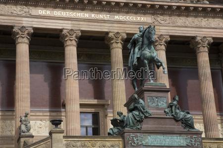 tyskland berlin gamle national galleri