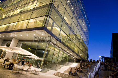tur rejse moderne europa aften museum