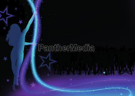 dance party background
