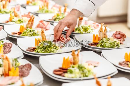 restaurant kokken tallerken fest hojtidelighed selskab