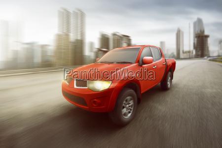 rod fire dor pickup truck med