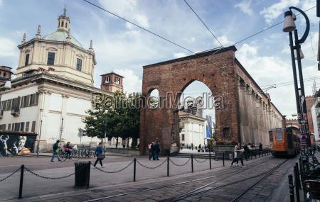 the basilica of san lorenzo maggiore