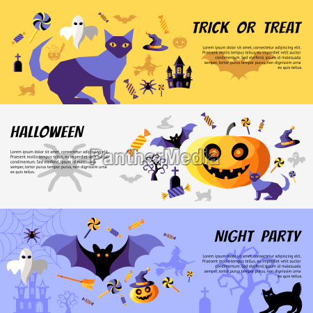 vector digital amarillo purpura feliz halloween