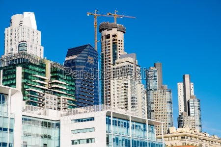 skyskrabere i puerto madero distriktet i