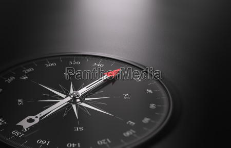 business orientering baggrund kompas pa venstre