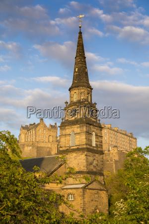 st cuthbert parish church and edinburgh