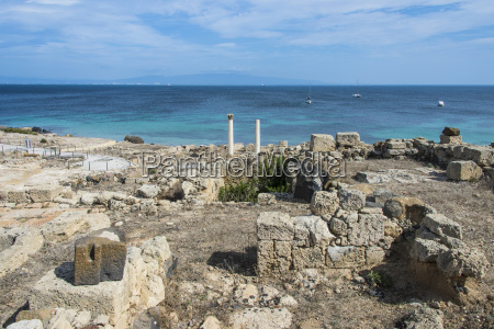 archaeological site of tharros sardinia italy