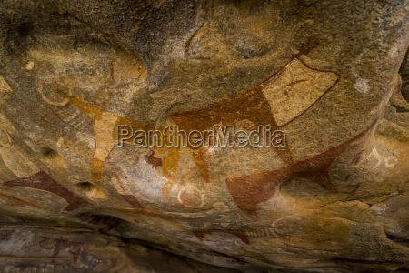 cave paintings in lass geel caves