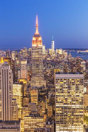 manhattan skyline new york skyline empire