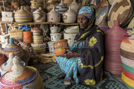 handmade basket shop thies senegal west