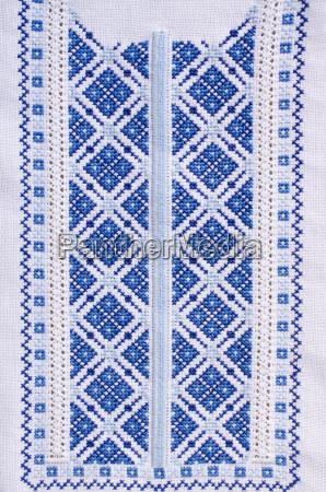 ukrainian folk patterns embroidered
