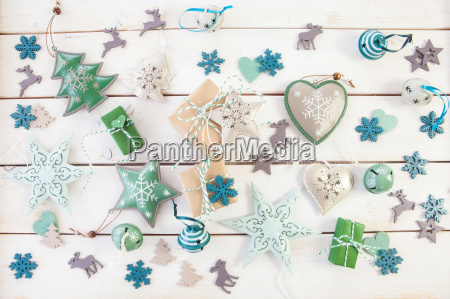 gifts and decoration for christmas