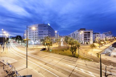 byen huelva om natten spanien