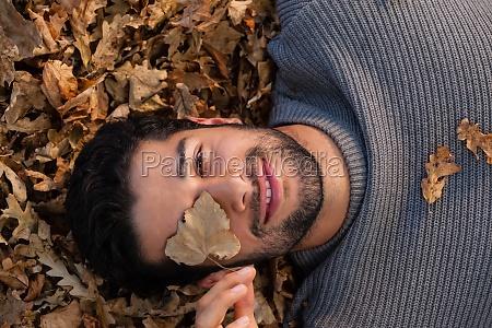 fnise smiler blad fritid livsstil afslapning