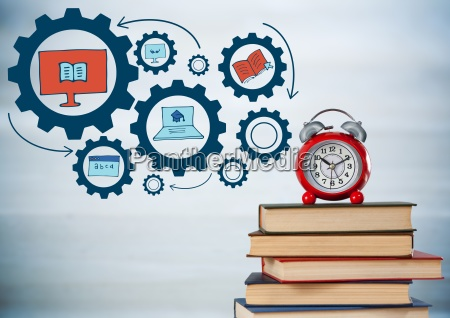 stilleben uddannelse grafik maskineri trae ur