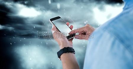 telefon bla mobil mobiltelefon miljo mandlig