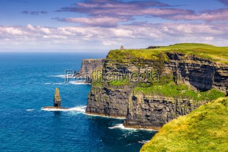 klipper af moher cliffs ireland rejser