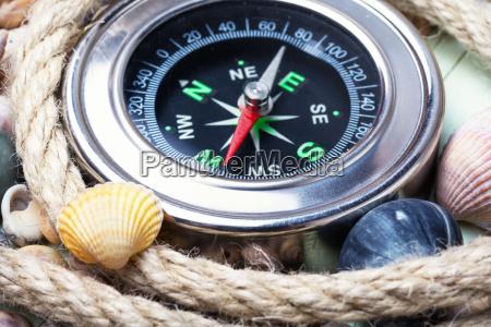 havkompas og muslingeskaller