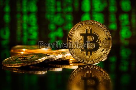 gyldne bitcoins cryptocurrency