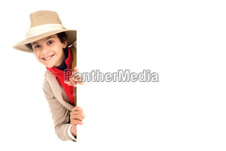 dreng i safari toj