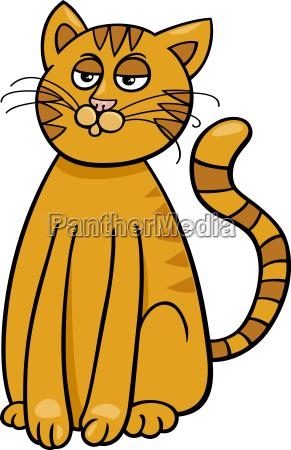 domestic cat cartoon comic animal character