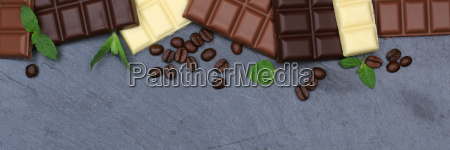boards tabel skifer bannere dessert chokolade
