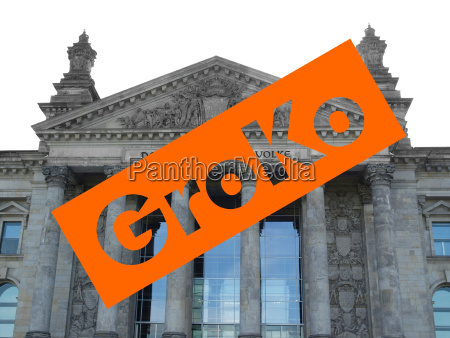 groko grosse koalition over reichstag parliament