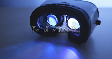 virtual reality at night
