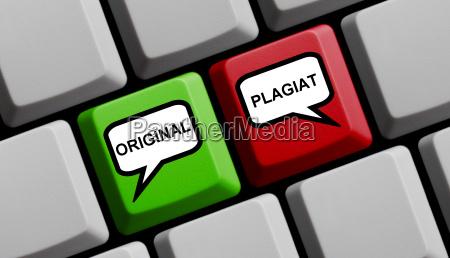 original og plagiat online