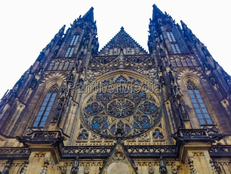 st vitus cathedral in prague czech