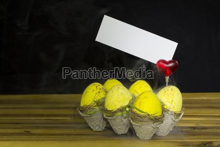 fumaca colorido pascoa ovos bolas mensagem
